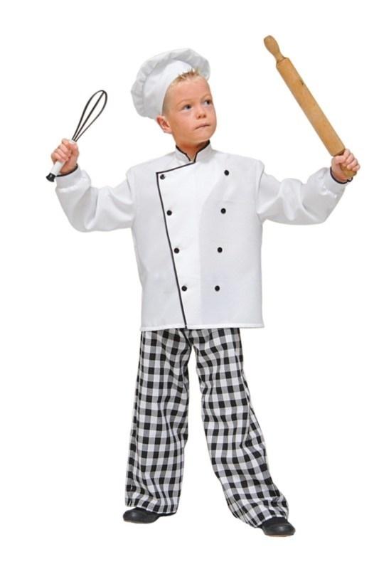 Koks kostuum jongen