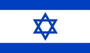 Vlag Israel 90x150cm