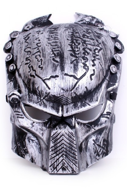 Predator masker zilver
