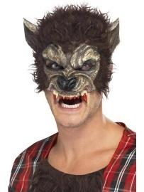 Weerwolf masker half