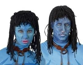 Pruik Neytiri Avatar