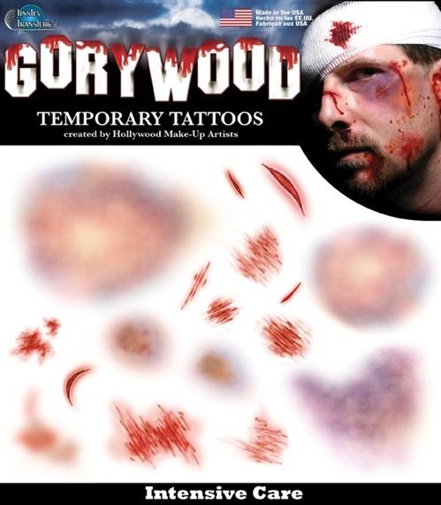 Wond tattoo intensive care