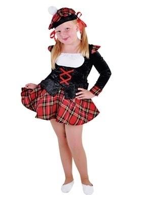 Schots meisjes kostuum
