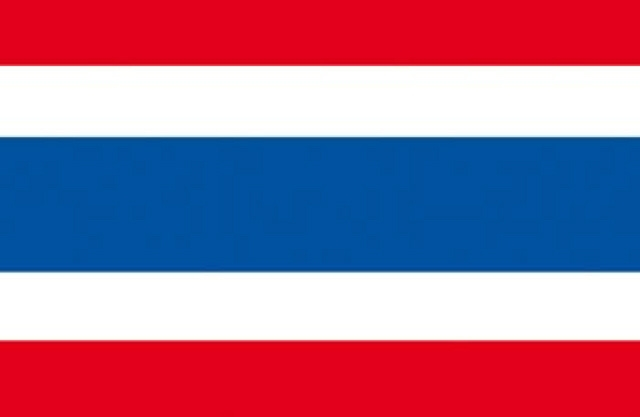 Vlag Thailand 90x150cm