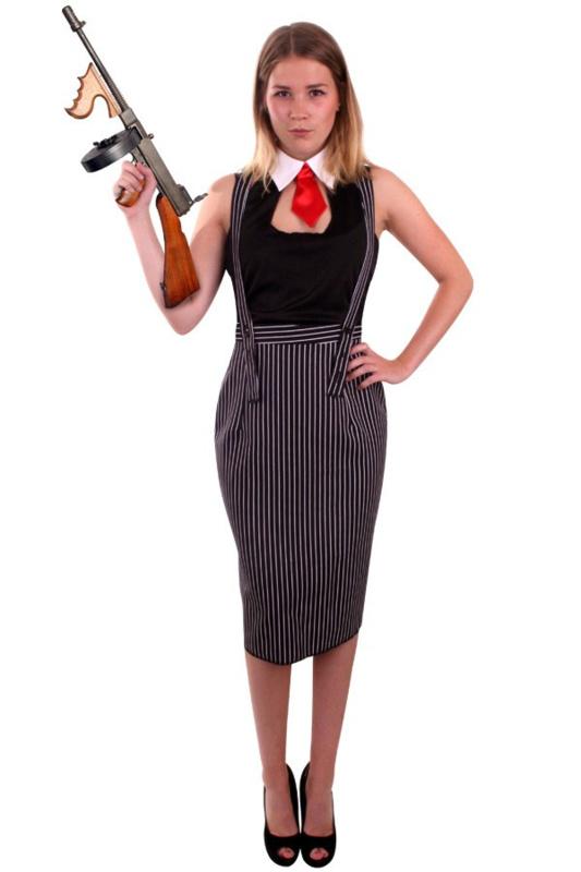Gangster dame jurk
