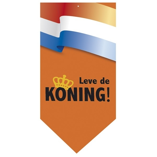 Oranje Banier Leve de Koning