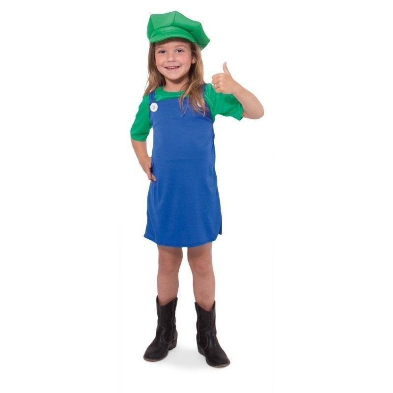 Super Luigi jurkje meisjes