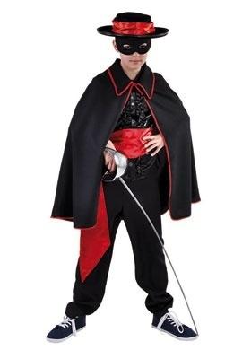 Cape Zorro zwart/rood