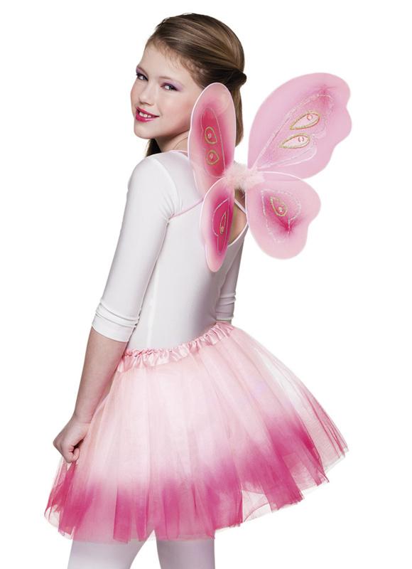 Vleugel set roze