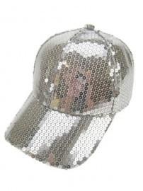 Zilver Baseball Cap / Pet