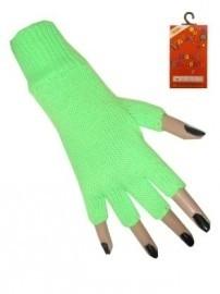 Vingerloze handschoenen Fluor Groen