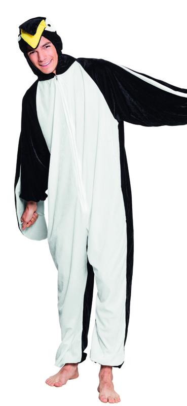 Dierenkostuum tiener pinguin