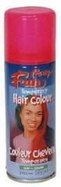 Hairspray neon pink