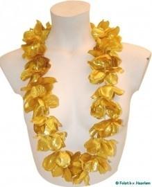 Gouden Hawai krans