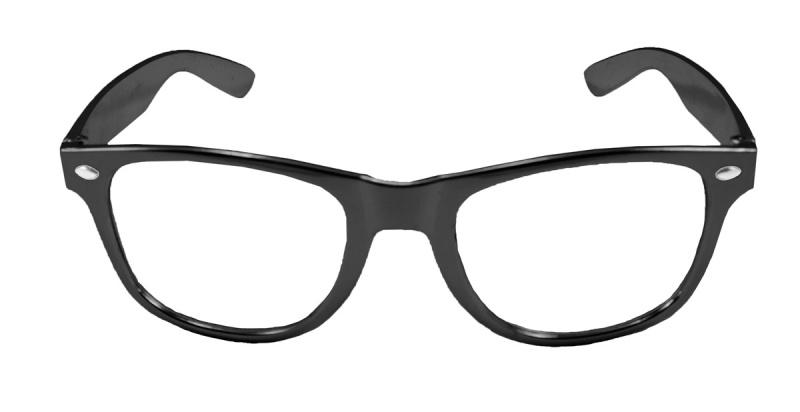 Zwarte bril modern