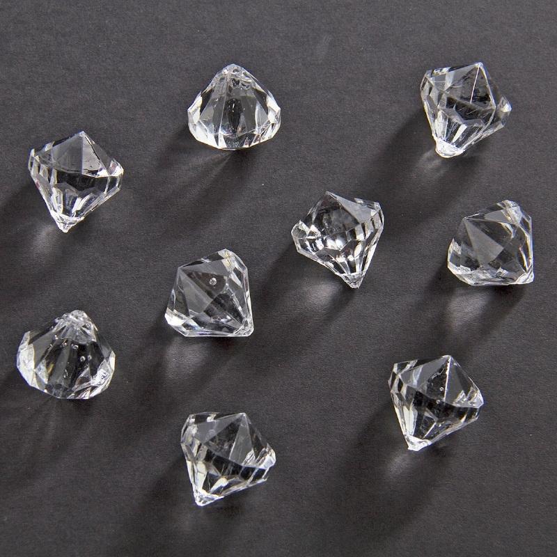 Decoratie diamantjes 20 mm