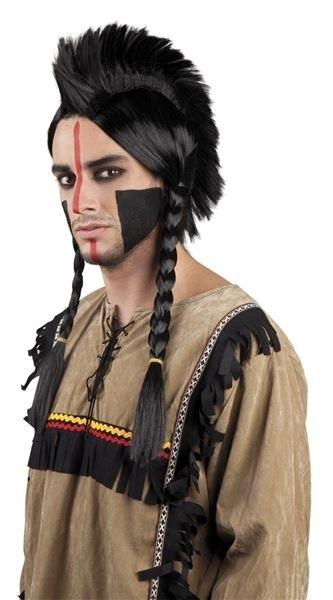 Pruik indiaan Antinanco