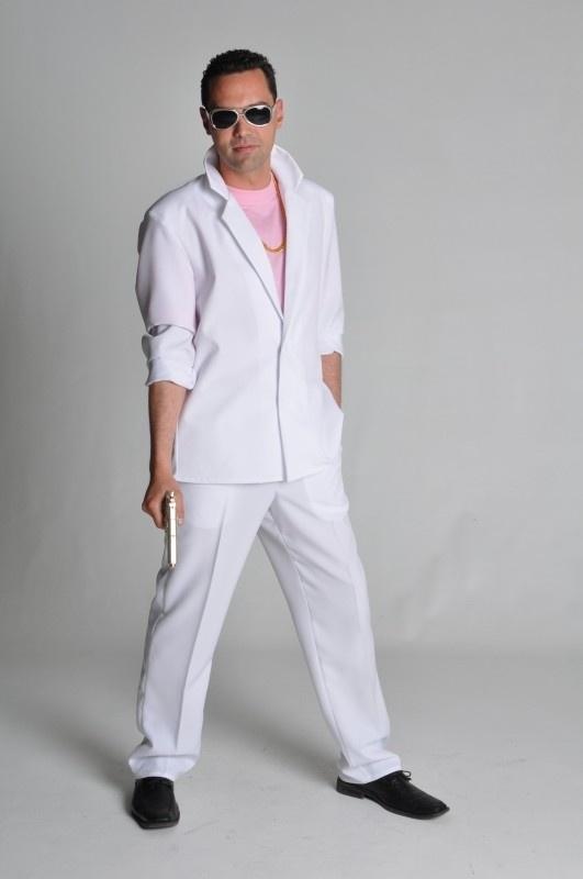 Miami Vice kostuum wit