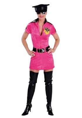 Politie dame pink