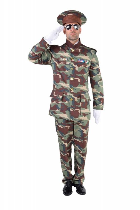 Leger officiers kostuum deluxe