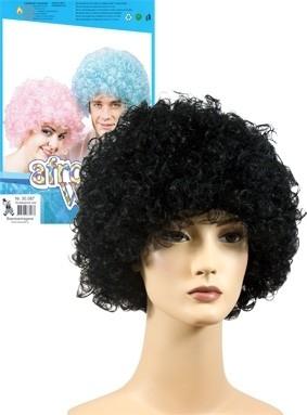 Afropruik zwart