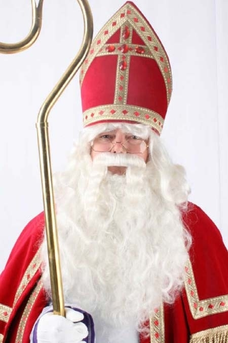 Sinterklaas baard en losse snor