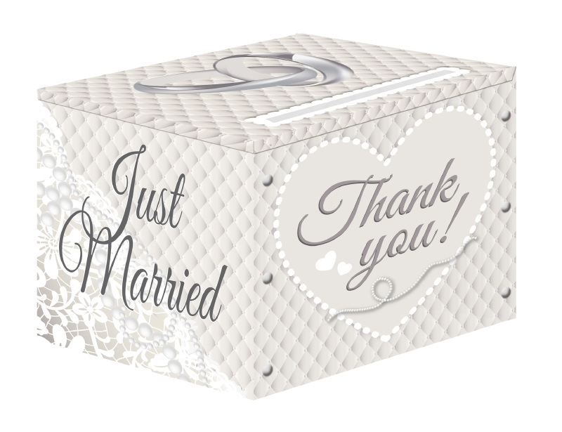 """Gift box """"Just Married"""""""