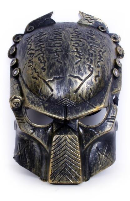 Predator masker brons