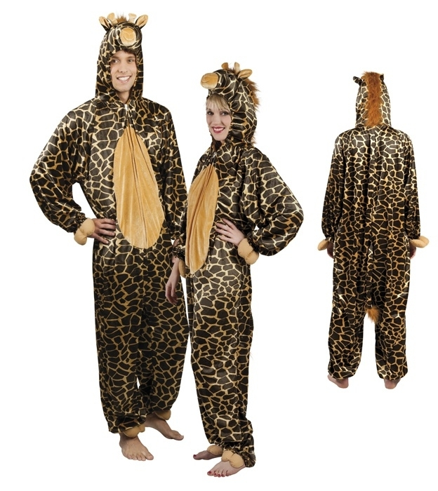 Giraffen kostuum
