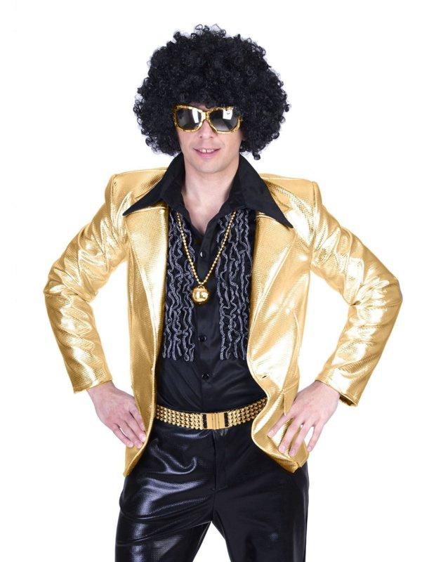 Gouden colbert disco fever