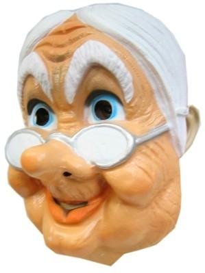 Masker oudje + bril
