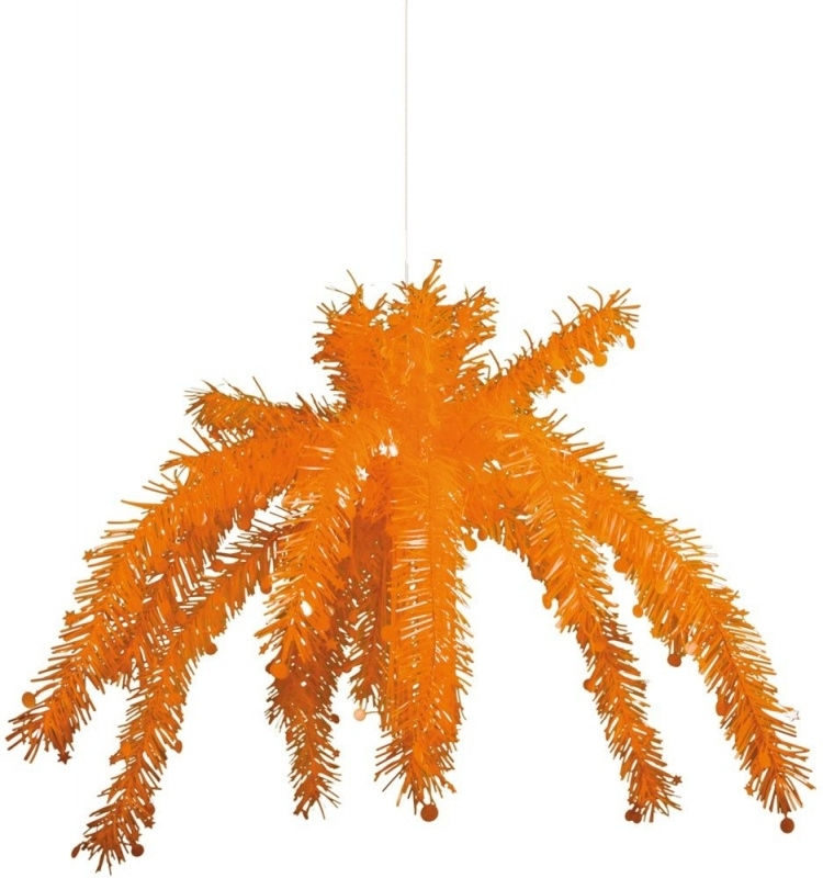 Hangdecoratie oranje