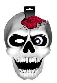 Skull with brains masker