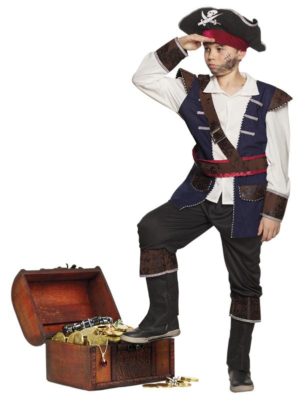 Piraten vince kids kostuum