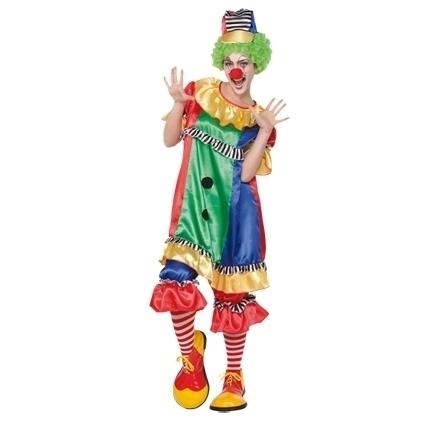 Dames clownspakje easy