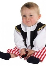 Piraatje babykostuum