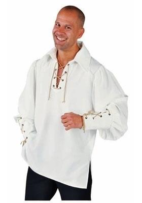 Creme zorro hemd