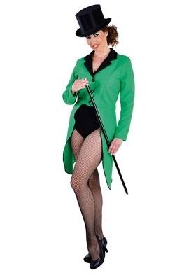 Dames slipjassen groen
