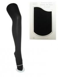 Zwarte piet katoenen panty