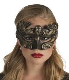Venetiaans oogmasker brons