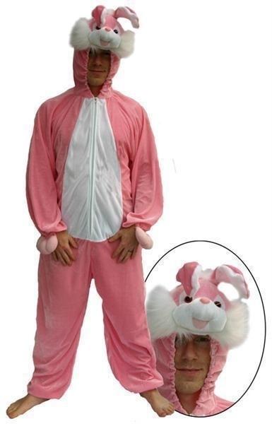 Konijnen kostuum Roze