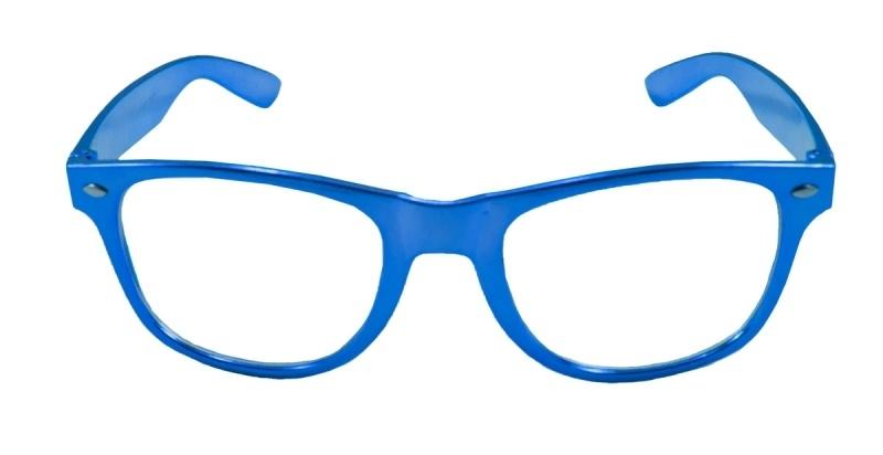 Blauwe bril modern