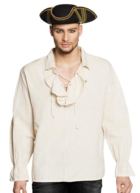 Piraten shirt creme