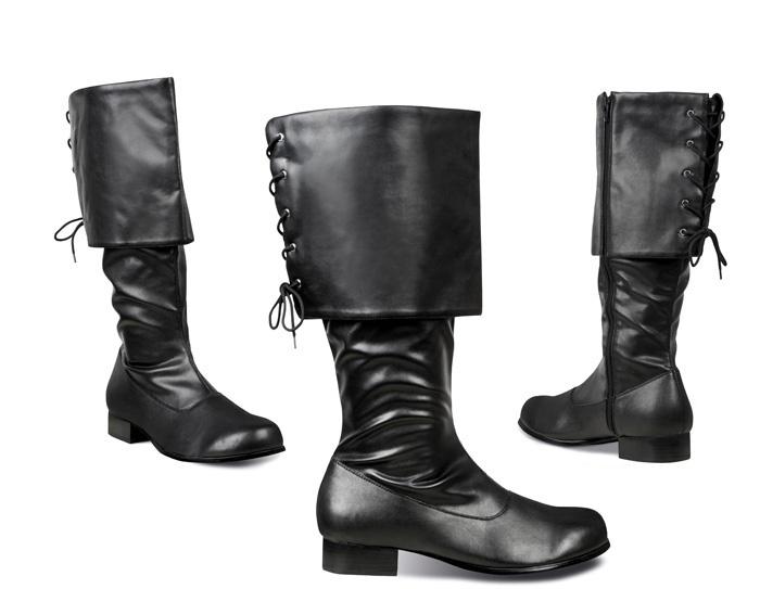 Zwarte laarzen heren