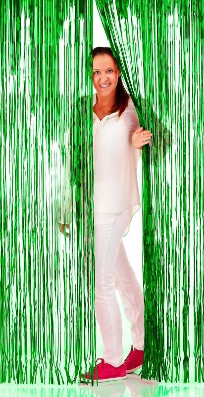 Folie deurgordijn groen