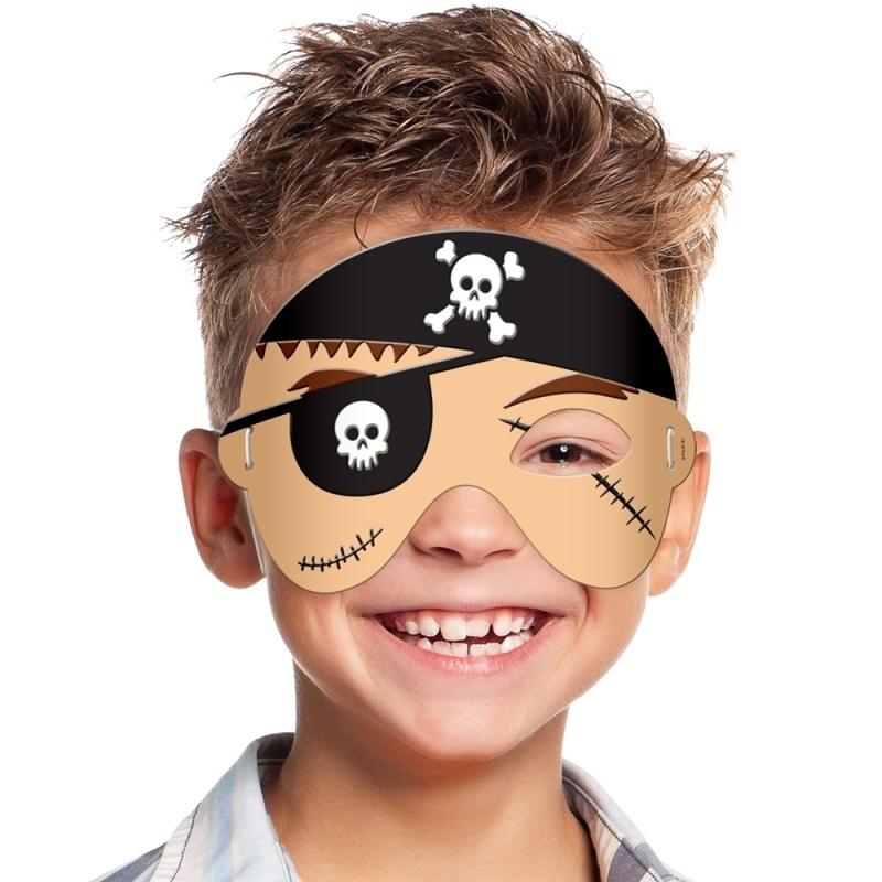 Masker foam piraat