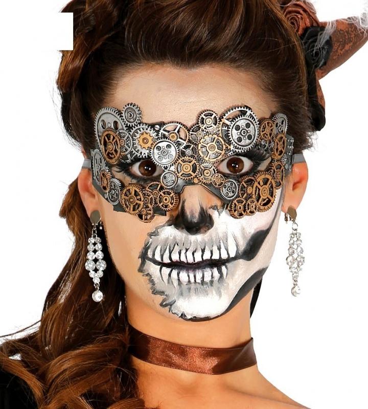 Steampunk masker latex