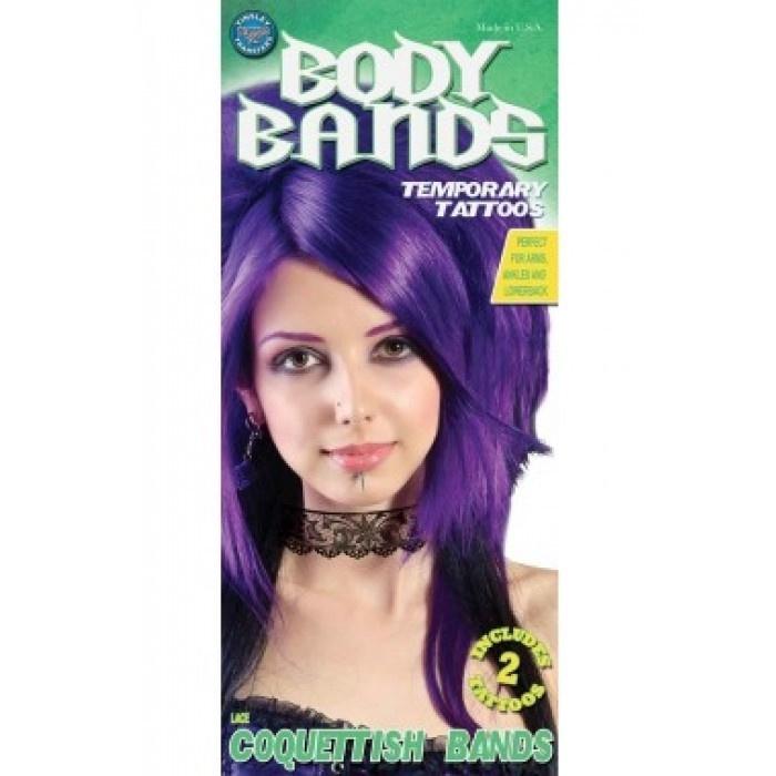 Tattoo body band lace 2 stuks
