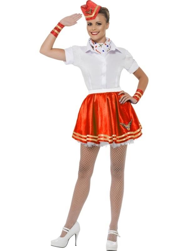 Kostuum Stewardess