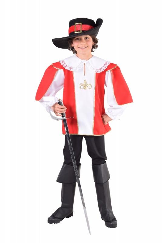 Musketiers kostuum jongen